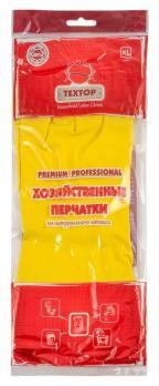 Textop Перчатки Хозяйственные из латекса размер XL
